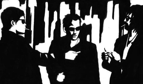 Norman Reedus, Sean Patrick Flanery, David Della Rocco by S-rof